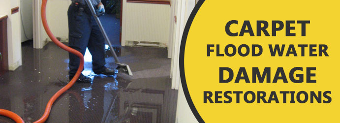 Carpet Flood Water Damage Restorations Services