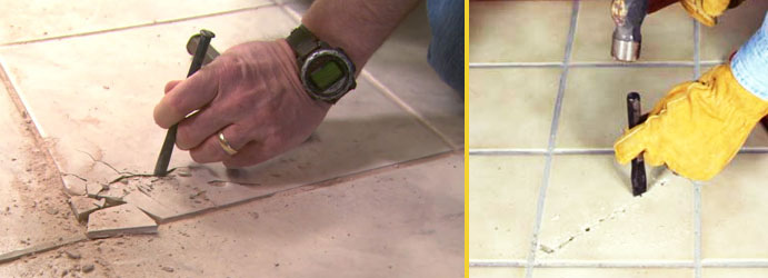 Cracked Tile Replacement Milora