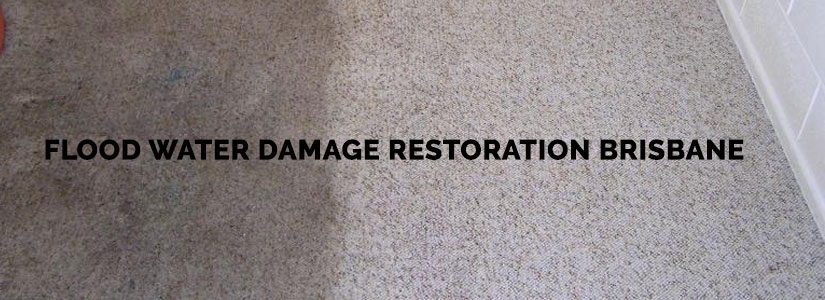 Flood Water Damage Restoration Toowoomba
