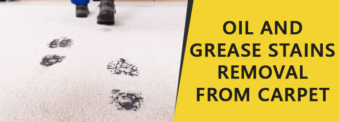Oil and Grease Stains From Carpet