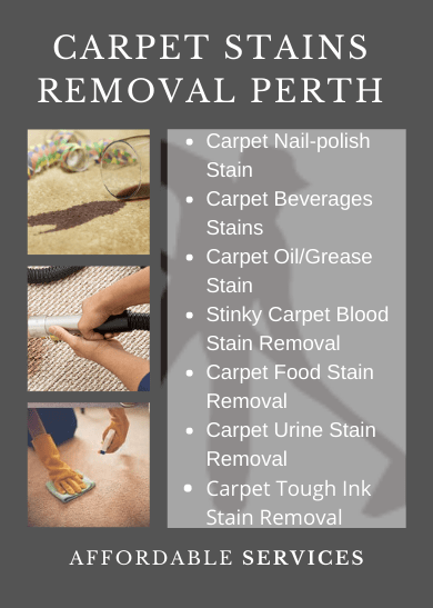 Carpet Stains Removal Perth